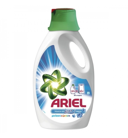 фото: Гель для стирки Ariel 1.95л, Touch of Lenor Fresh