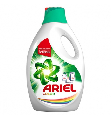 фото: Гель для стирки Ariel 2.6л, Color