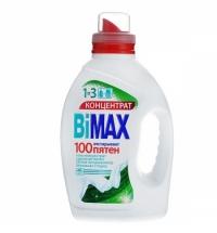 Гель для стирки Bimax 1.5л, 100 пятен, концентрат