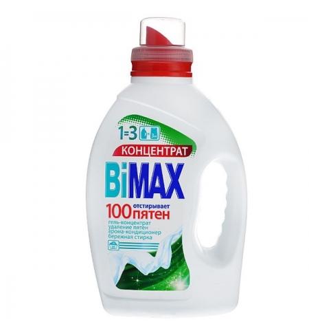 фото: Гель для стирки Bimax 1.5л, 100 пятен, концентрат