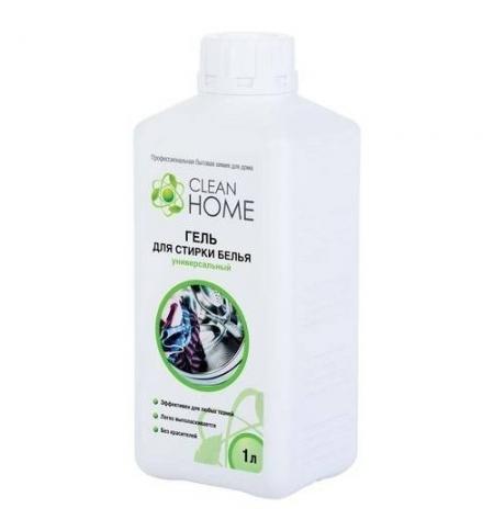 фото: Гель для стирки Clean Home 1л, универсальный