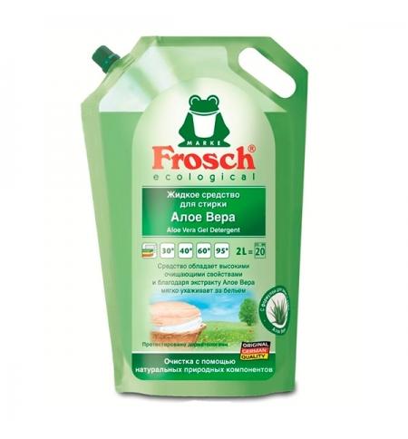 фото: Гель для стирки Frosch 2л, алоэ вера