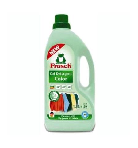 фото: Гель для стирки Frosch 2л, для цветного белья