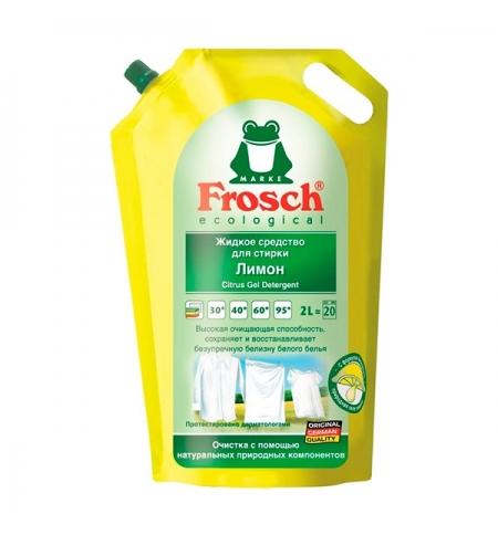 фото: Гель для стирки Frosch 2л, лимон