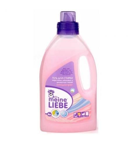 фото: Гель для стирки Meine Liebe 800мл, для шерстяных, шелковых и деликатных тканей, концентрат