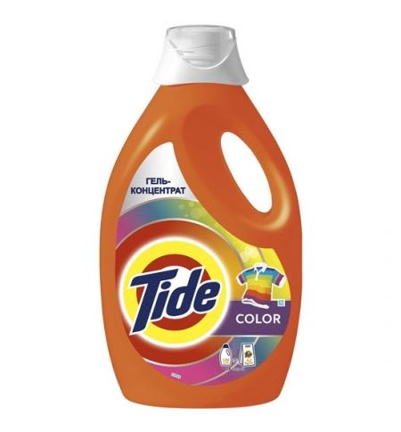 фото: Гель для стирки Tide Color 1.82л, концентрат
