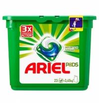 Капсулы для стирки Ariel Pods 23шт х 28.8г, горный родник, автомат