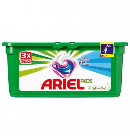 фото: Капсулы для стирки Ariel Pods 30шт х 28.8г, Touch of Lenor Fresh, автомат