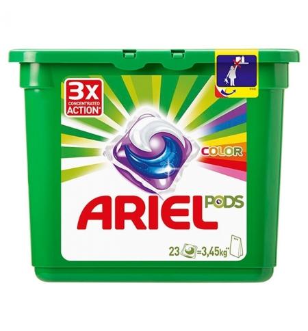 фото: Капсулы для стирки Ariel Pods Color 23шт х 28.8г, автомат