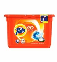 Капсулы для стирки Tide Pods 15шт, альпийская свежесть, автомат