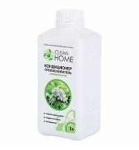 Кондиционер для белья Clean Home универсальный 1л, яблоневые сады