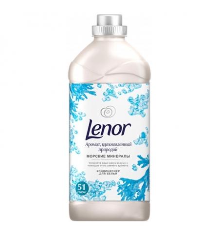 фото: Кондиционер для белья Lenor 1.785л, морские минералы, концентрат