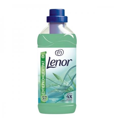 фото: Кондиционер для белья Lenor 2л, альпийские луга, суперконцентрат