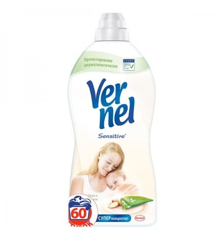 фото: Кондиционер для белья Vernel 1.82л, алоэ вера и миндальное молочко, суперконцентрат