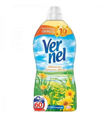 фото: Кондиционер для белья Vernel 1.82л, свежесть летнего утра, суперконцентрат
