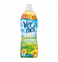 Кондиционер для белья Vernel 910мл, свежесть летнего утра, суперконцентрат