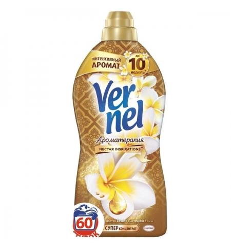 фото: Кондиционер для белья Vernel ароматерапия 1.82л, ваниль и цитрус, суперконцентрат