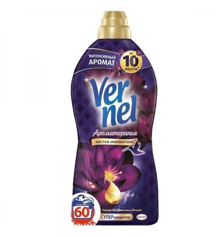 фото: Кондиционер для белья Vernel ароматерапия 1.82л, орхидея и пачули, суперконцентрат