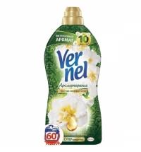 Кондиционер для белья Vernel ароматерапия 1.82л, пион и хлопок, суперконцентрат