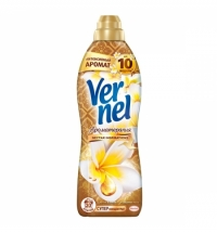 Кондиционер для белья Vernel ароматерапия 910мл, ваниль и цитрус, суперконцентрат