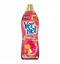 Кондиционер для белья Vernel ароматерапия 910мл, гибискус и роза, суперконцентрат