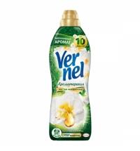 Кондиционер для белья Vernel ароматерапия 910мл, пион и хлопок, суперконцентрат