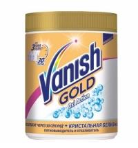 Пятновыводитель Vanish Gold Oxi Action 500г, кристальная белизна, порошок