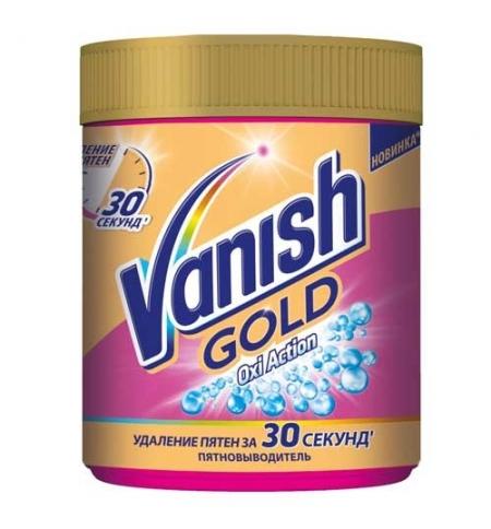 фото: Пятновыводитель Vanish Gold Oxi Action 500г, порошок