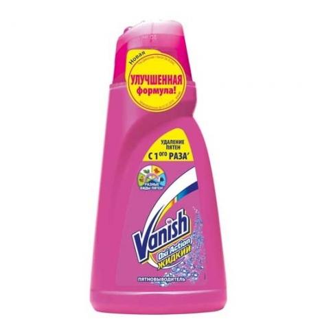 фото: Пятновыводитель Vanish Oxi Action 1л, жидкость, top-40