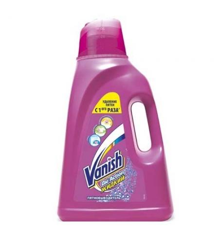 фото: Пятновыводитель Vanish Oxi Action 2л, жидкость