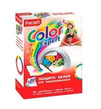 Салфетки для белья Paclan Color Expert для защиты от окрашивания, 20шт