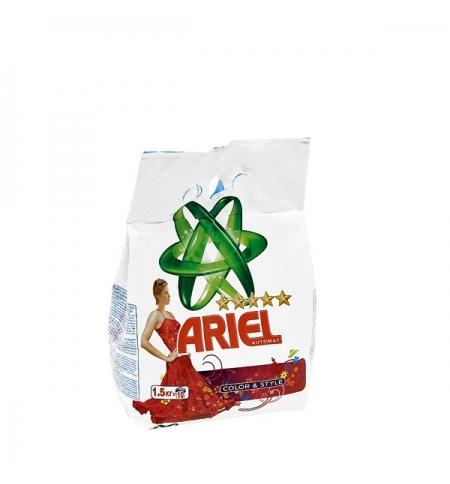 фото: Стиральный порошок Ariel Color&Style 1.5кг, автомат