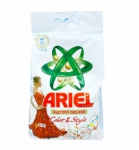 Стиральный порошок Ariel Color&Style 6кг, автомат