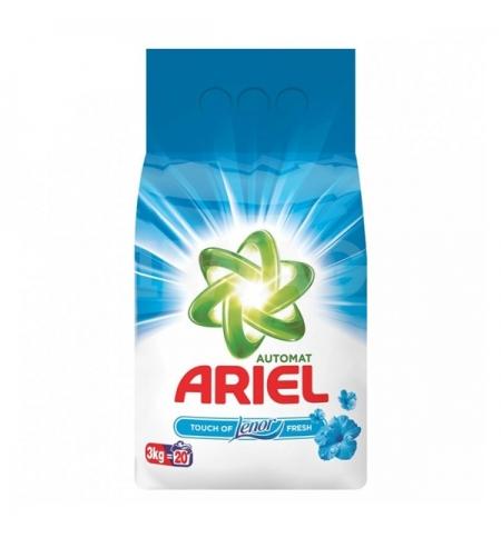 фото: Стиральный порошок Ariel Touch of Lenor 3кг, для белого и цветного, автомат