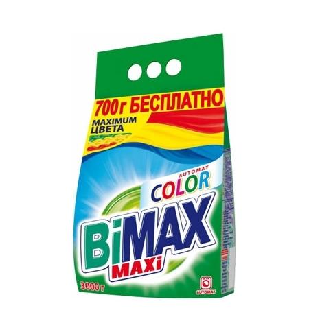 фото: Стиральный порошок Bimax Compact 3кг, Color, автомат