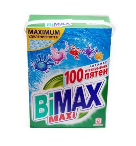 фото: Стиральный порошок Bimax Compact 4кг, 100 пятен, автомат