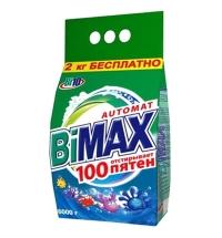 Стиральный порошок Bimax Compact 6кг, 100 пятен, автомат