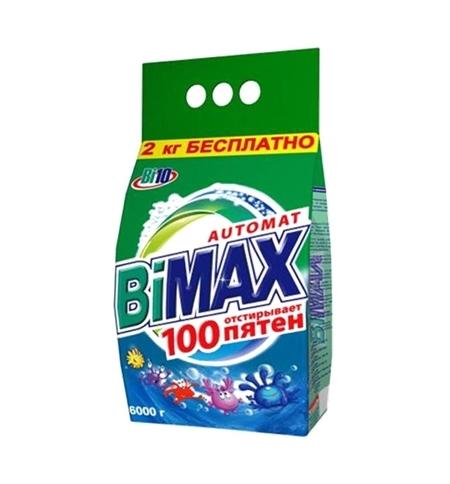 фото: Стиральный порошок Bimax Compact 6кг, 100 пятен, автомат