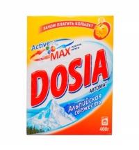 Стиральный порошок Dosia 400г, альпийская свежесть, автомат