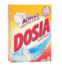 Стиральный порошок Dosia 400г, альпийская свежесть, автомат, top-40