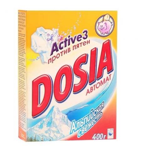 фото: Стиральный порошок Dosia 400г, альпийская свежесть, автомат, top-40