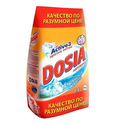 фото: Стиральный порошок Dosia 8.4кг, альпийская свежесть, автомат