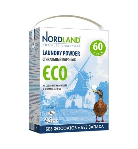 фото: Стиральный порошок Nordland Eco 1.8кг, без фосфатов