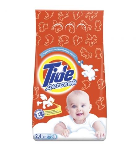 фото: Стиральный порошок Tide 2.4кг, детский, автомат