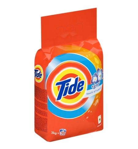 фото: Стиральный порошок Tide 3кг, Color, Lenor Touch of Scent, автомат