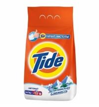 Стиральный порошок Tide 3кг, альпийская свежесть, автомат