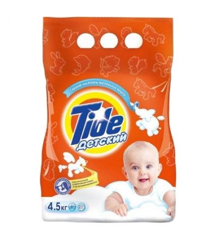 фото: Стиральный порошок Tide 4.5кг, детский, автомат