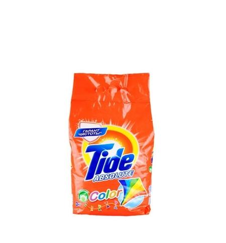 фото: Стиральный порошок Tide Absolute 3кг, Color, автомат