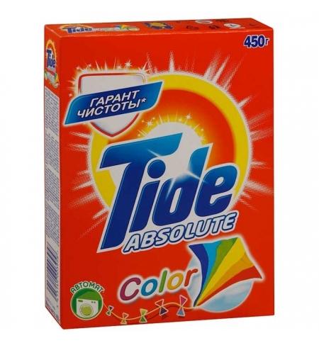 фото: Стиральный порошок Tide Absolute 450г, Color, автомат