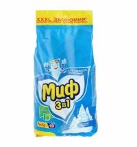 Стиральный порошок Миф 9кг, морозная свежесть, автомат